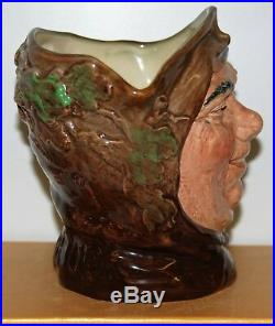 Large Royal Doulton Character Toby Jug Friar Tuck D6321 Excellent Condition