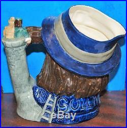 Large Royal Doulton Character Toby Jug Gulliver D6560 Excellent