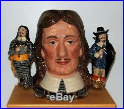 Large Royal Doulton Character Toby Jug Oliver Cromwell D6968