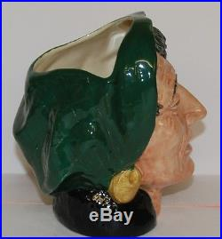 Large Royal Doulton Character Toby Jug The Fortune Teller D6497 Perfect