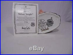 Large Royal Doulton Classics Wilbur Wright D7179 Character Jug #0264 Signed