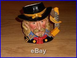 Large Royal Doulton General Custer Character Jug, D7079. 1st Quality