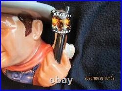 Large Royal Doulton John Wayne Character Mug/jug D7269 Jug Of Year 2007