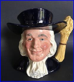 Large Royal Doulton'Mr. Quaker' Character Toby Jug D6738