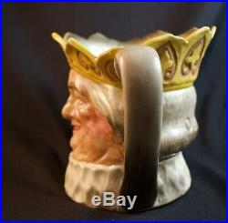 Large Royal Doulton Old King Cole Yellow Character Jug D6036 Great Condition