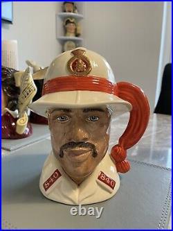 Large Size Bahamas Policeman Doulton Character Jug