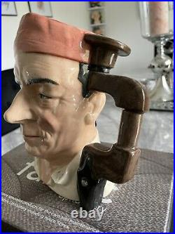 Large Size Cabinet Maker Royal Doulton Character Jug