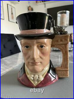 Large Size George Stephenson Doulton Character Jug