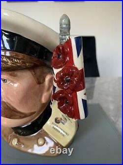 Large Size Lord Kitchener Limited Edition Doulton Character Jug