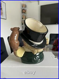 Large Size Mad Hatter Higbee Doulton Character Jug