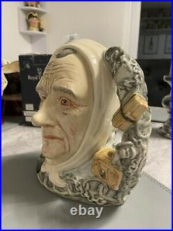 Large Size Marleys Ghost Doulton Character Jug