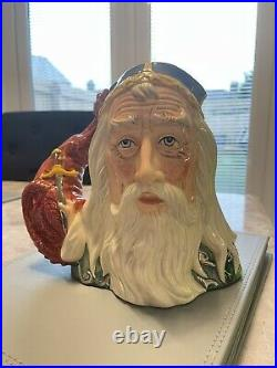 Large Size Merlin Limited Edition Doulton Character Jug