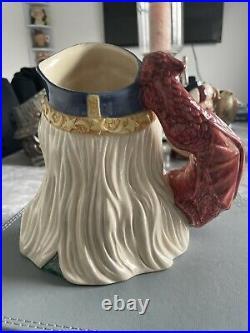 Large Size Merlin Ltd Ed Royal Doulton Character Jug