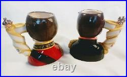 Limited Edition, Royal Doulton Toby Character Jugs, Wellington and Napoleon VGC