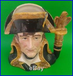 Limited Edition of 2,000 Royal Doulton Large Character Jug NAPOLEON D6941