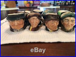 Lot 61 Royal Doulton Toby Character Mugs Pitchers Jugs good condition