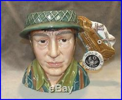Ltd Ed 59/350 US WARS WORLD WAR II Royal Doulton D7268 Character Jug IN BOX Toby