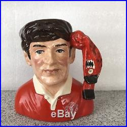 Manchester United Supporter Small Royal Doulton Figure Toby Character Jug D9264