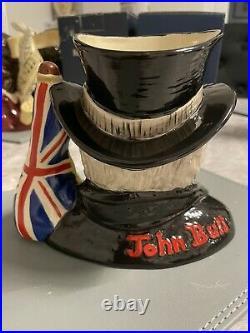 Medium Size Prototype John Bull Doulton Character Jug