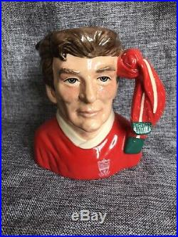 Midsize Royal Doulton Character Jug Liverpool Football Supporter D6930