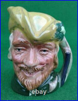 Miniature Royal Doulton Character Jug Robin Hood Sample D6541