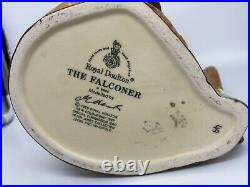 Mint Royal Doulton 7-1/2 Toby Character Mug Jug D6800 The Falconer Special Comm