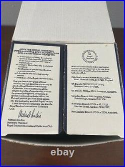 New In Box Royal Doulton Bonnie Prince Charlie Large Character Jug D6858