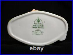 Pristine set of 4 Royal Doulton THE BEATLES Toby Jugs D6724, D6725, D6726, D6727