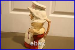 RARE Antique Staffordshire 19th Century Toby Mug Jug Punch and Judy Character