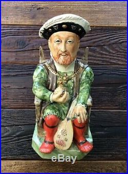 RARE LIMITED (114/1000) Kevin Francis King Henry VIII Character Toby Jug