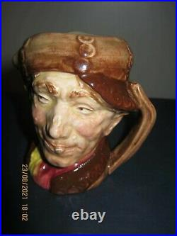 RARE ROYAL DOULTON PEARLY BOY WITH BROWN BUTTONS (small) CHARACTER JUG