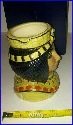 RARE Royal Doulton ANKHESENAMUN Character Jug Ltd Edn 391/1500 COA and Box 1998