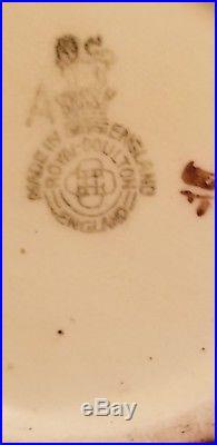 RARE Royal Doulton Character Jug PEARLY BOY D6235 3.5 1947 BROWN/BROWN