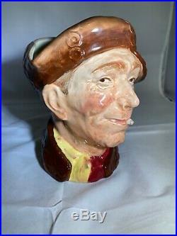 RARE Royal Doulton Pearly Boy Large Toby Jug Character Mug