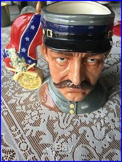 RARE! Royal doulton Limited Edition 319/350 Civil War Character Jug Double Face