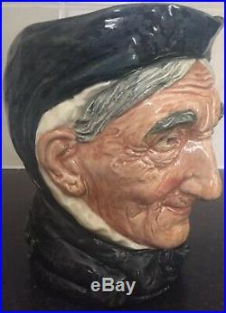 RARE Toothless Granny Royal Doulton Character Jug