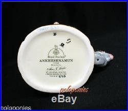 ROYAL DOULTON Ankhesenamun Small Character Jug D7128 1999 Limited Edition