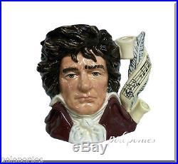 ROYAL DOULTON Beethoven Large Character Jug D7021 Great Composers Series