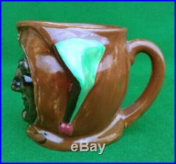 ROYAL DOULTON CHARACTER JUG JESTER D5556 1936 COLOURWAY. 1st YEAR OF ISSUE