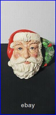 ROYAL DOULTON CHARACTER JUG Pitcher SANTA CLAUS D6794 LIMITED EDITION 1987
