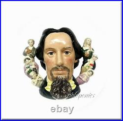 ROYAL DOULTON Charles Dickens D6939 (Double Handle) Large Character Jug