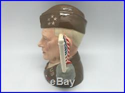ROYAL DOULTON General Eisenhower D6937 Large Character Jug #/1000 RARE