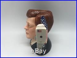 ROYAL DOULTON John F. Kennedy D7246 Large Character Jug #0176/1000 RARE