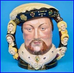 ROYAL DOULTON King Henry VIII Double Handled Character Jug D6888 Ltd Ed 1,991