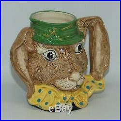 ROYAL DOULTON LARGE CHARACTER JUG MARCH HARE D6776 UK MADE Alice in Wonderland