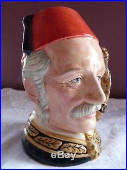 ROYAL DOULTON Large GENERAL GORDON Character Toby JUG D6869 by William K. Harper