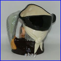 ROYAL DOULTON Large size character jug Long John Silver D6335 UK made
