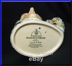 ROYAL DOULTON Marley's Ghost Large Character Jug D7142 Dickens Characters