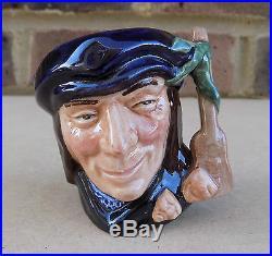ROYAL DOULTON Miniature Character Jug Scaramouche D6564