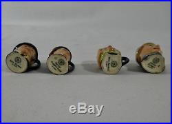 ROYAL DOULTON Miniature Character Toby Jugs COLLECTION 14 TOTAL. 10 withPapers